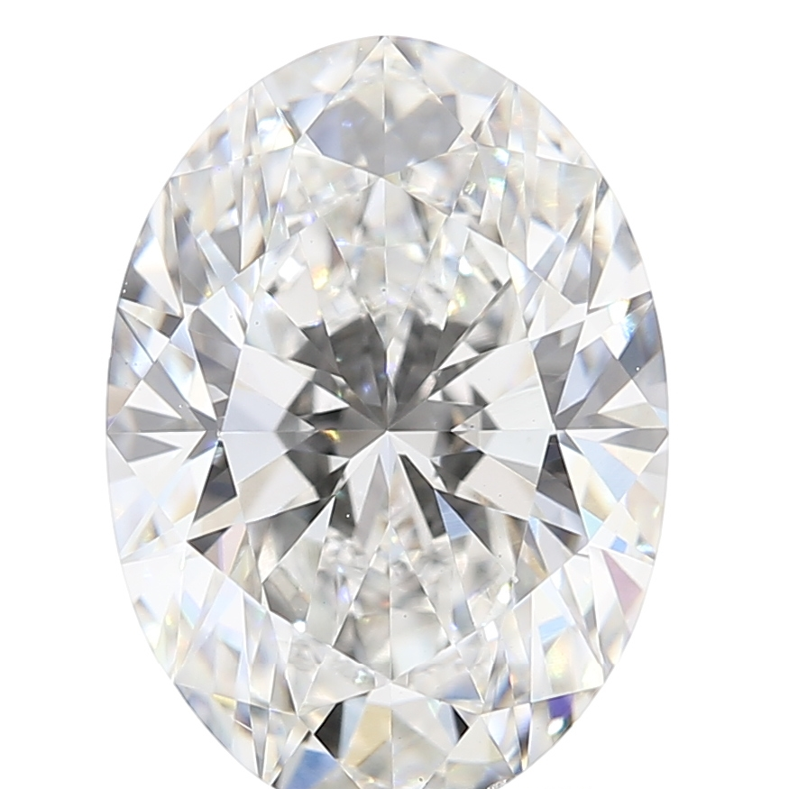 Oval Cut 2.24 Carat G Color Vs2 Clarity Sku Lg54345337