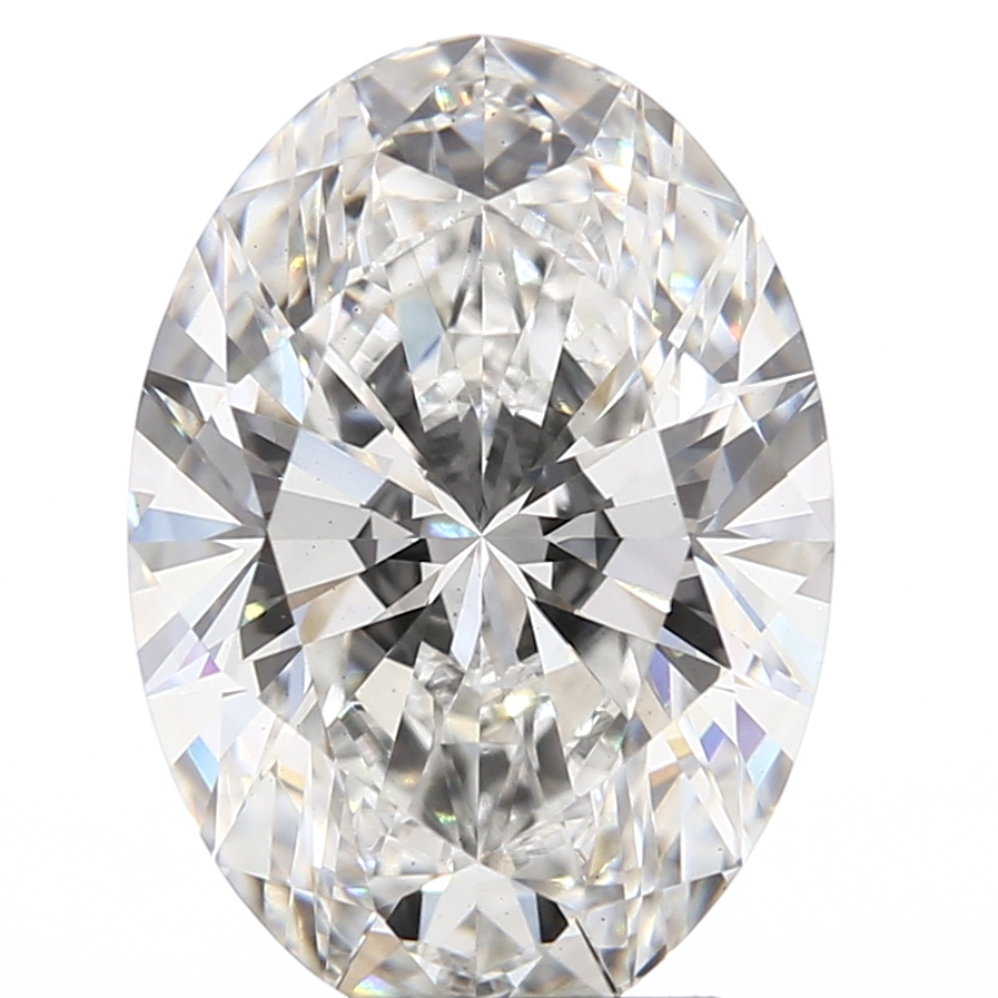 Oval Cut 2.37 Carat G Color Vs2 Clarity Sku Lg24145334