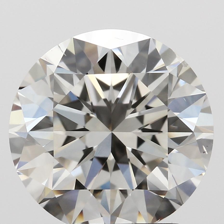 Round Cut 1.89 Carat H Color Si1 Clarity Sku Lg4116090
